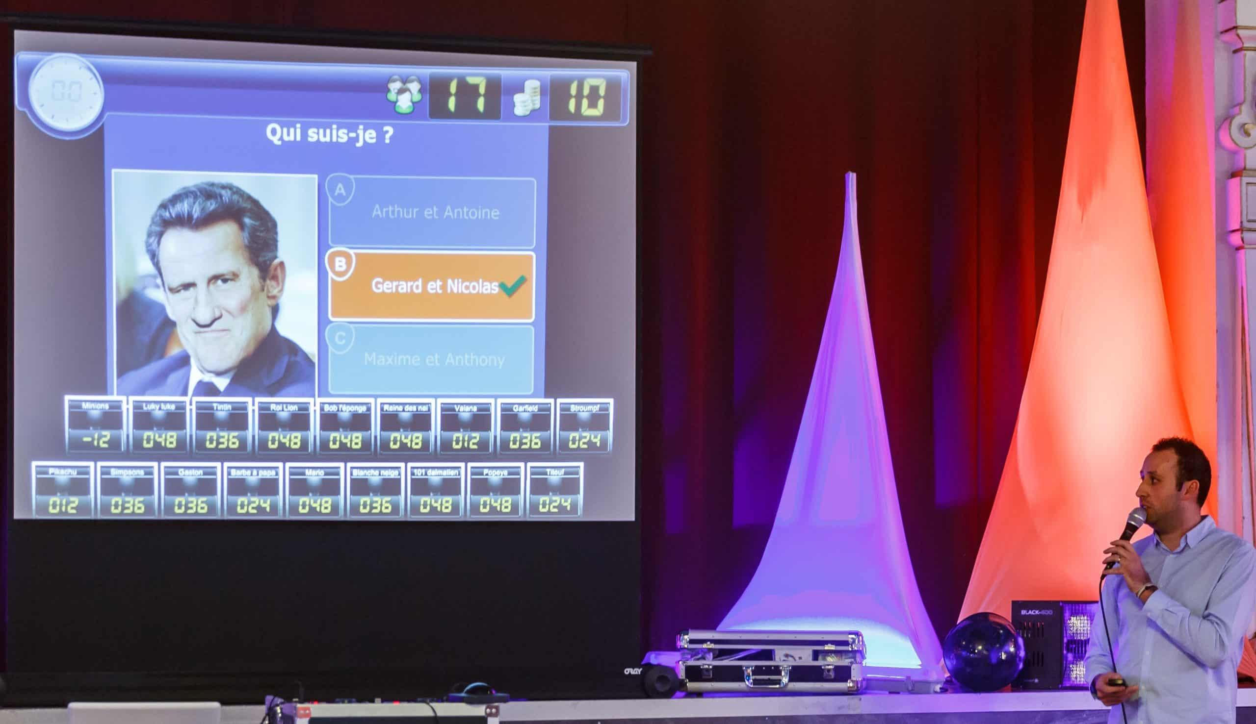 Concept clé en main adulte - Olivier Noël et sa team se chargent de vos animations d'entreprises ou particuliers. -Mulhouse & Environs