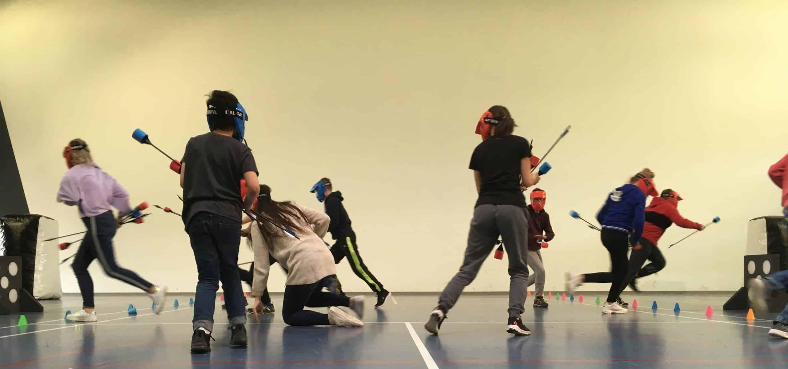 Archery Tag - Olivier Noël et sa team se chargent de vos animations d'entreprises ou particuliers. -Mulhouse & Environs